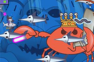 大战机器螃蟹无敌版
