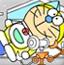 机器猫水彩画13