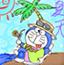 机器猫水彩画11
