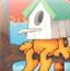 加菲猫拼图4