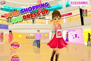 朵拉购物和打扮