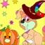 孩子的着色:万圣节快乐2