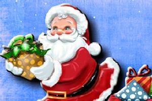 圣诞老爷爷填颜色