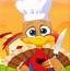 感恩节可爱火鸡厨师