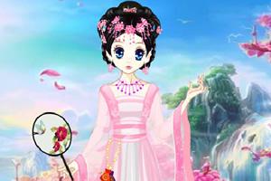 森迪公主的古代打扮