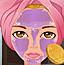 杂志模特化妆