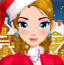 圣诞女孩化妆