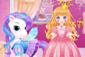 甜美小公主和她的马