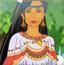 印第安姑娘
