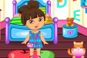 朵拉小公主的儿童房间