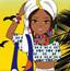 非洲时尚色彩