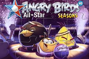 愤怒的小鸟篮球拼图