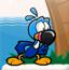 黑嘴鹦鹉闯宝湾