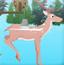 喀什米尔鹿生存