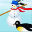 快乐的大脚企鹅