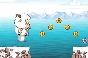 喜羊羊跑酷吃金币
