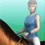 美女骑马2