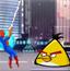 蜘蛛侠救愤怒的小鸟