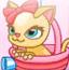 糖果猫咪射气球