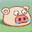 令蜗愤怒的猪