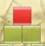 扔掉红色方块