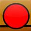 捕捉红色按钮