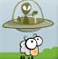 UFO吸食绵羊