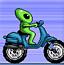 外星人骑摩托