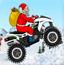 圣诞老人冰山摩托