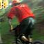 极限山地自行车