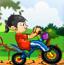 彩虹泡泡自行车