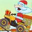 圣诞老人骑车