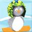 小企鹅滑雪