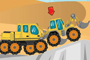 挖掘机赛车无敌版