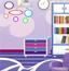 彩色书房设计
