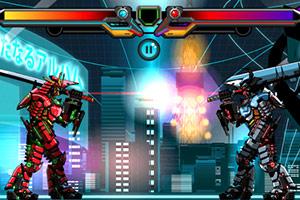 机器武士对抗战