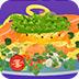 鸡肉与西兰花的料理
