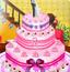结婚派对的蛋糕