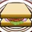 火鸡三明治