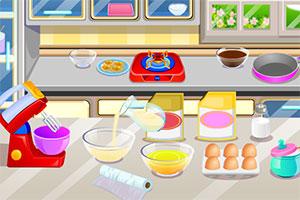 蛋奶冻甜甜圈