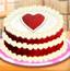 情人节爱心蛋糕