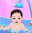 给宝宝洗澡2