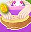 花生酱香蕉饼