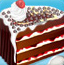 樱桃巧克力夹层蛋糕