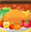 感恩节大餐桌