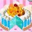 美味的冰淇淋蛋糕