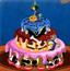 万圣节完美的蛋糕