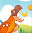 恐龙吃水果