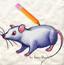 学画12生肖之鼠