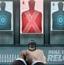 人体靶射击练习